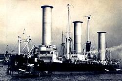 Flettner-Rotor-Schiff Barbara