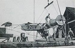 Rotorflugzeug mit Flettner-Rotoren