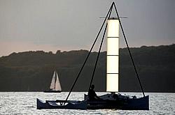 Flettner-Testboot Uni-Kat