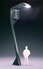 Futura Designlampe Grafik