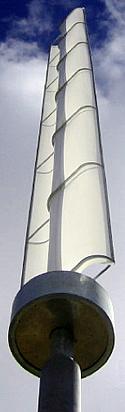 Stangenförmiger Savonius-Rotor
