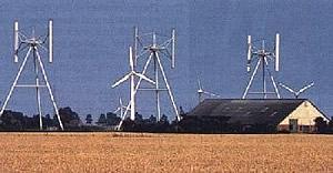 Darrieus-H-Rotoren
