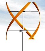 Aerospiral Windkraftanlage