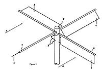 Abbildung aus dem Klapprotor-Patent