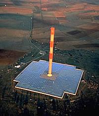Aufwindkraftwerk Menzares