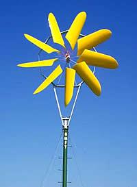 Berwian Windkonzentrator