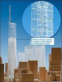 Freedom Tower Konzept von 2004