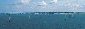 Erster Offshore-Windpark weltweit