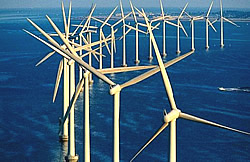 Küstennaher Offshore Windpark